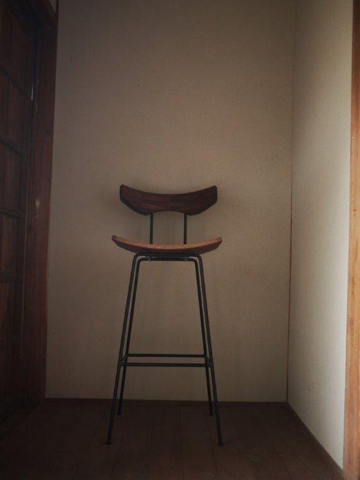 furniture factory store WEATHER REPORT SalasBancos y sillas Madera Marrón