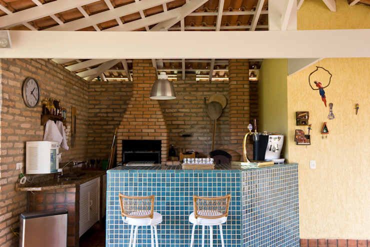 Lucia Helena Bellini arquitetura e interiores Patios & Decks