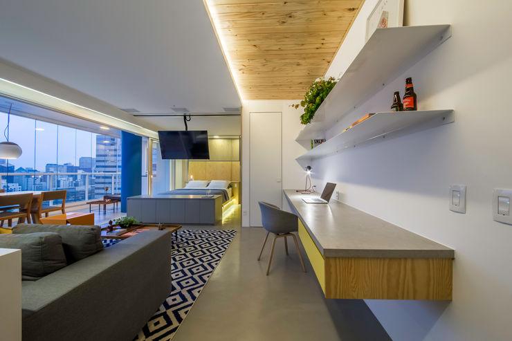 Casa100 Arquitetura Вітальня
