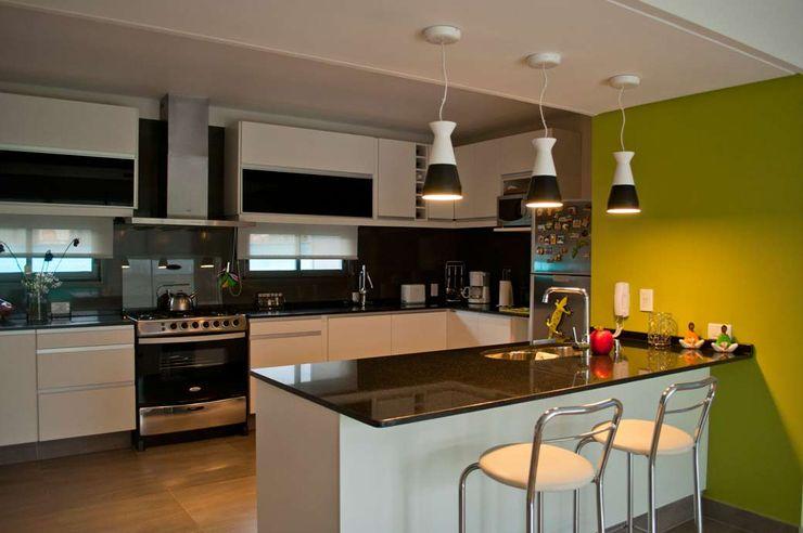 Casa Boedo Bonomo&Crespo Arquitectura Cocinas eclécticas