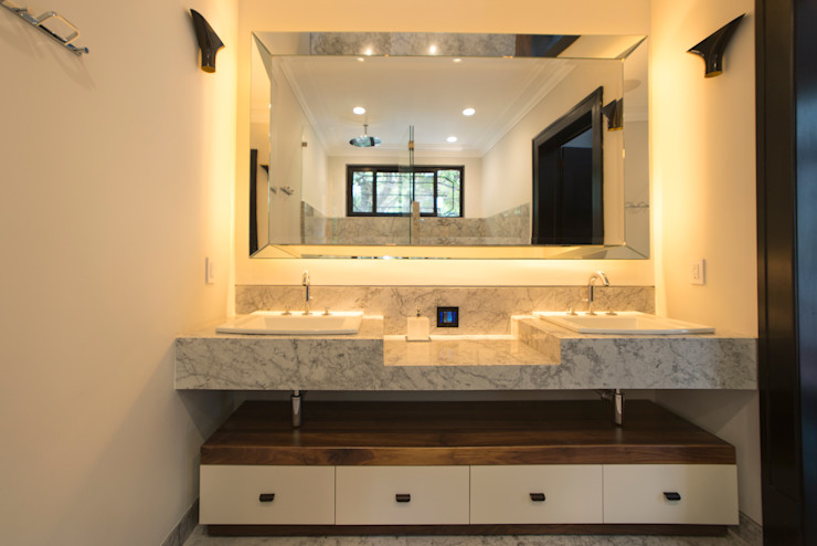 TW/A Architectural Group Bagno moderno