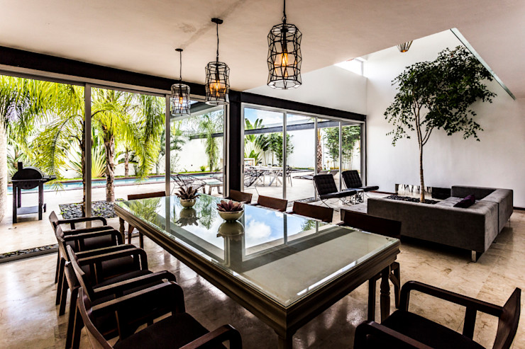 La Casa K27 P11 ARQUITECTOS Comedores modernos