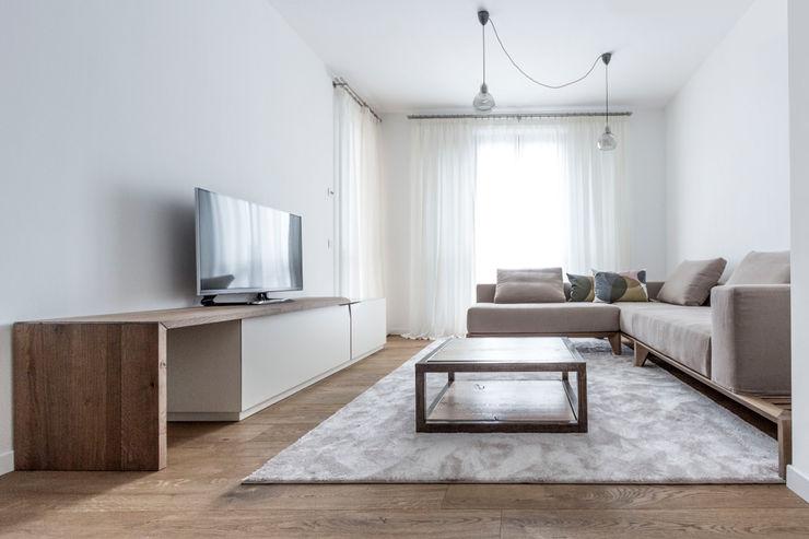 Appartamento Residenziale - Brianza - 2013 - 01 Galleria del Vento Soggiorno in stile scandinavo