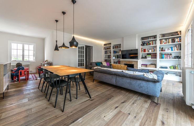 08023 Architects Soggiorno moderno