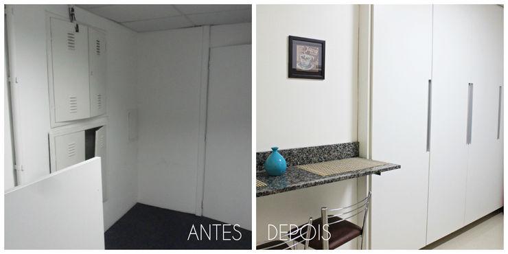 É! Arquitetura e Design Edificios de oficinas Tablero DM Blanco
