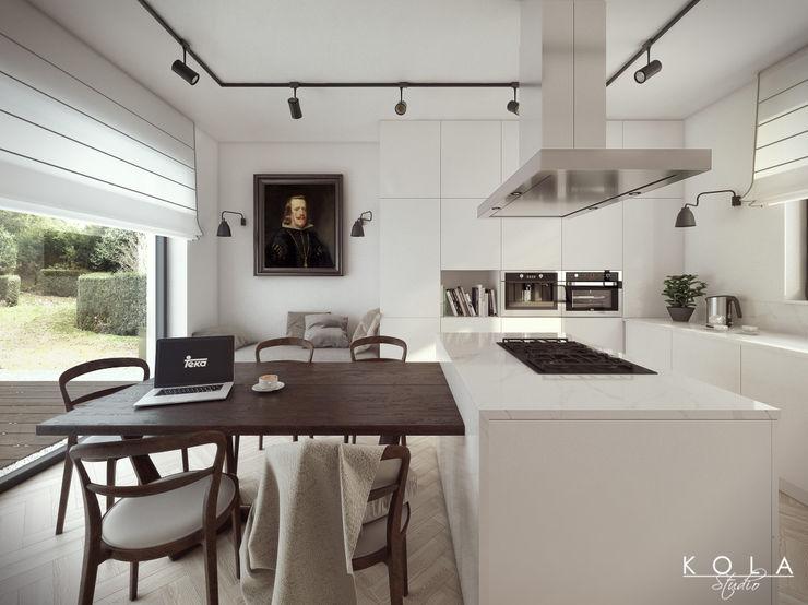 Kola Studio Wizualizacje Architektoniczne Cocinas de estilo ecléctico