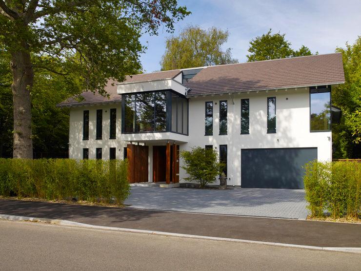 Exteriors Baufritz (UK) Ltd. Casas modernas
