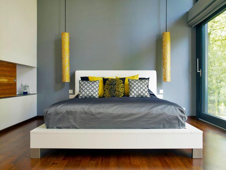 Bedroom Baufritz (UK) Ltd. Cuartos de estilo moderno