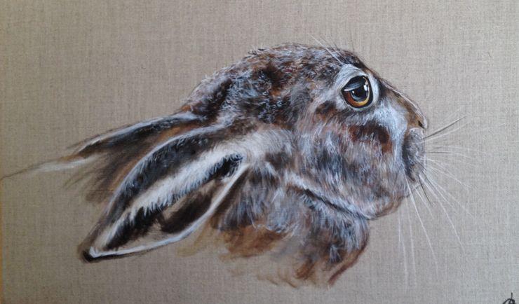 Odile Laresche Artiste Peintre Animalier SoggiornoAccessori & Decorazioni