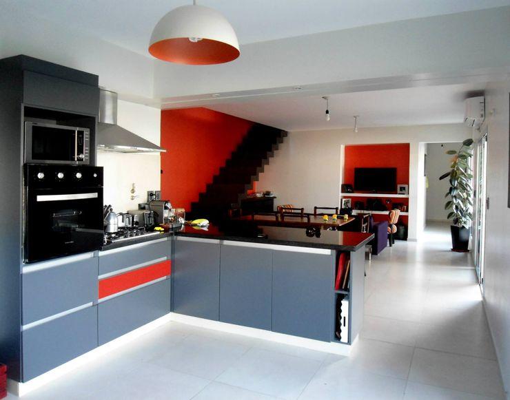 Vivienda DLB - Tejas 2 (proyecto y obra) ANDA arquitectos Cocinas modernas: Ideas, imágenes y decoración