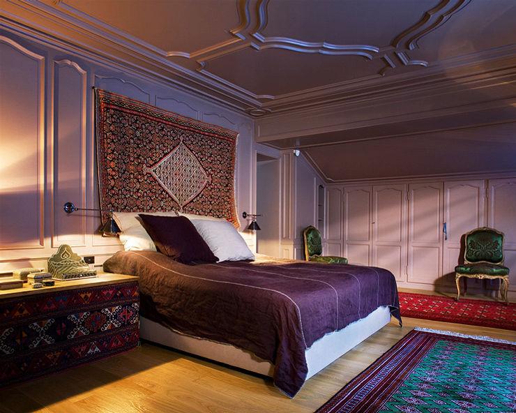Peter Kammermann Décorateur Industrial style bedroom