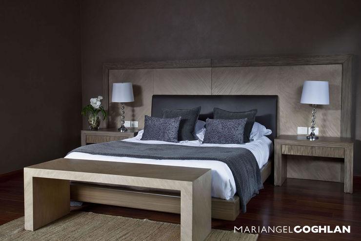 Recámara principal MARIANGEL COGHLAN Dormitorios modernos