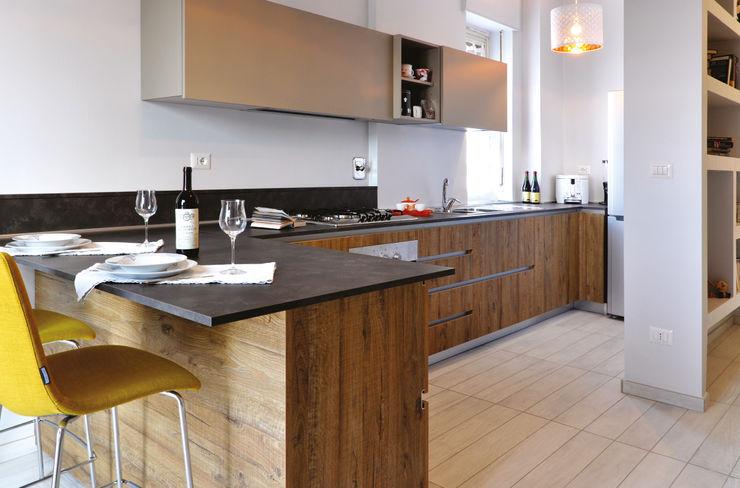 Ristrutturazione SG arCMdesign - Architetto Michela Colaone Cucina moderna