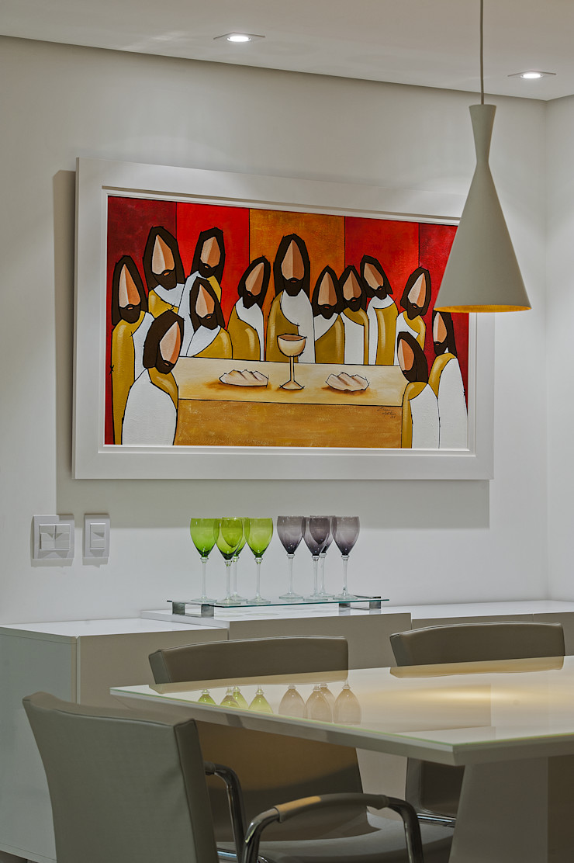Studio Boscardin.Corsi Arquitetura Столовая комната в стиле минимализм
