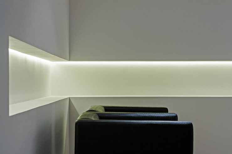 Studio Boscardin.Corsi Arquitetura Гостиная в стиле минимализм