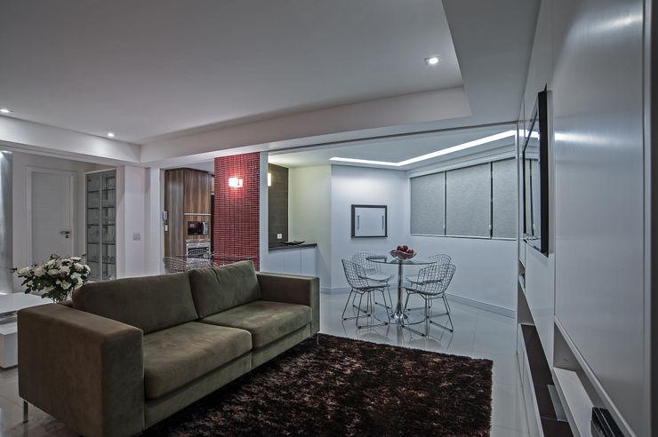 Studio Boscardin.Corsi Arquitetura Гостиная в стиле модерн