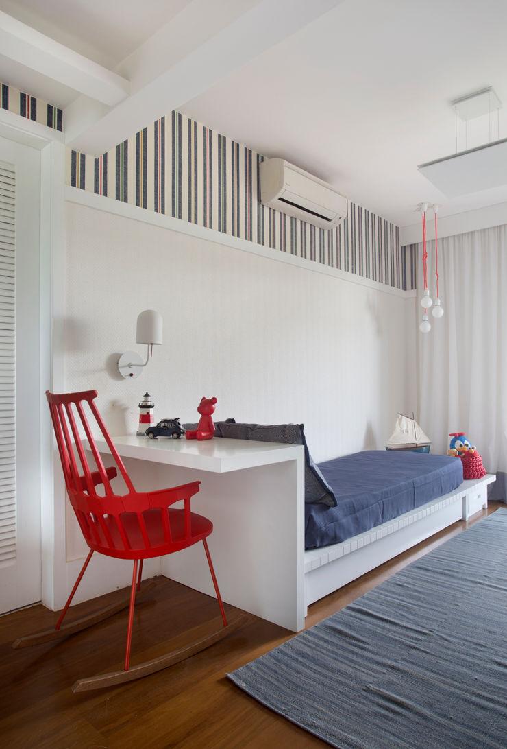 Yamagata Arquitetura Stanza dei bambiniLetti & Culle PVC Rosso