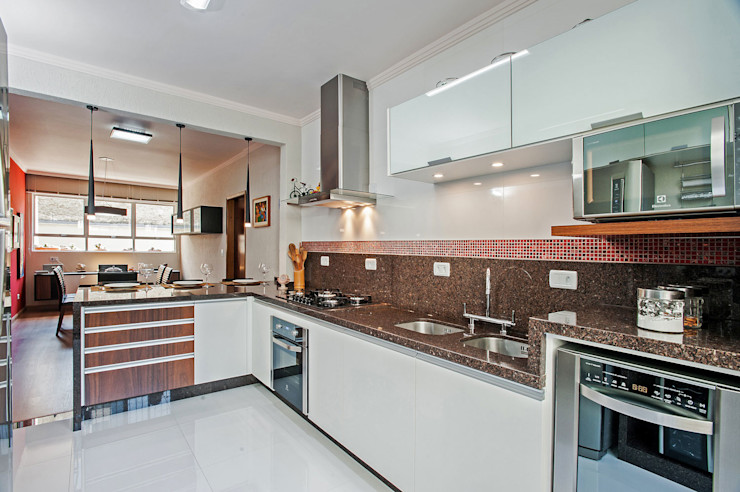 Patrícia Azoni Arquitetura + Arte & Design Kitchen