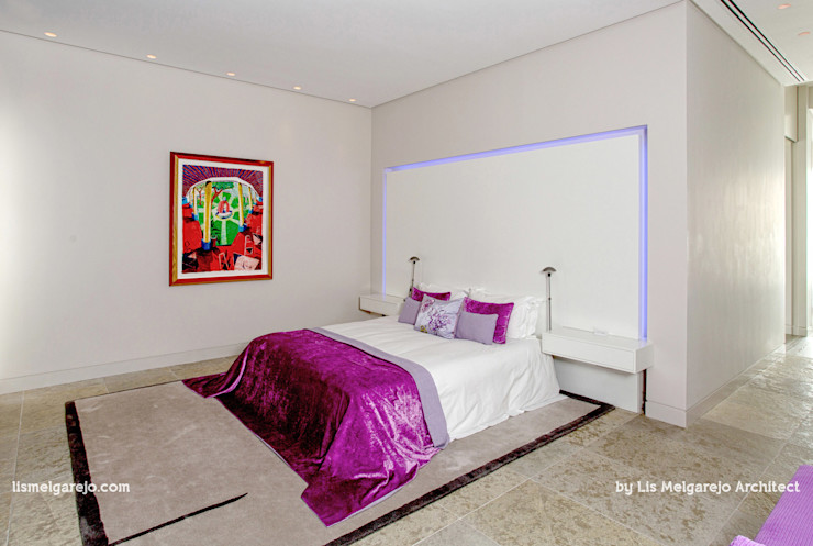 Lis Melgarejo Arquitectura Спальня в стиле модерн