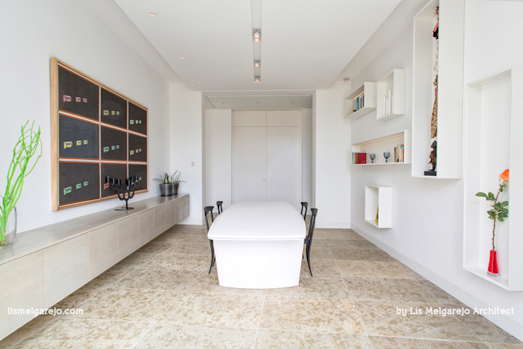 Lis Melgarejo Arquitectura Столовая комната в стиле модерн