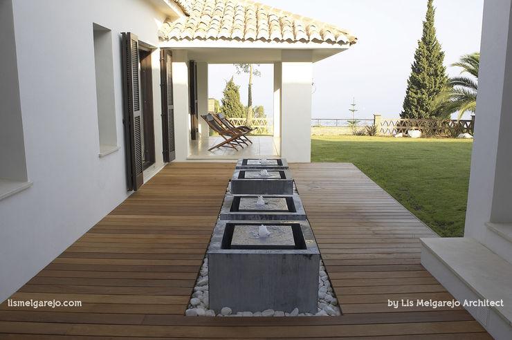 Lis Melgarejo Arquitectura Балкон и терраса в стиле модерн