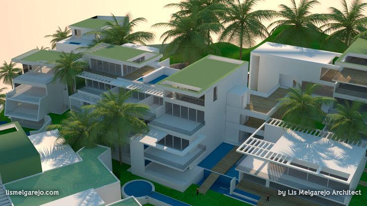Lis Melgarejo Arquitectura Дома в средиземноморском стиле