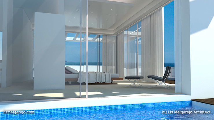 Lis Melgarejo Arquitectura Бассейн в средиземноморском стиле