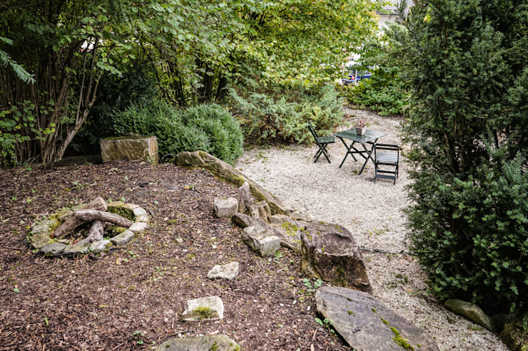 Staging einer Villa zum Verkauf Home Staging Gabriela Überla Klassischer Garten