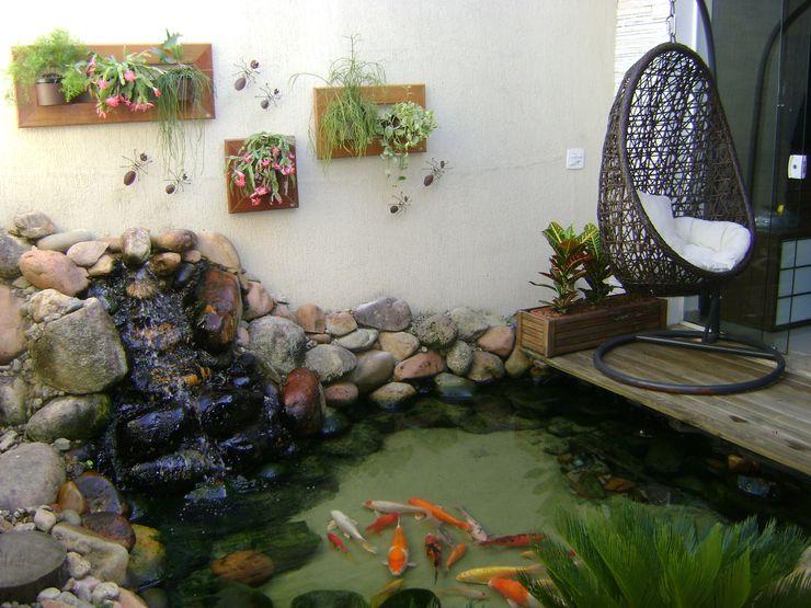 MC3 Arquitetura . Paisagismo . Interiores Eclectic style garden