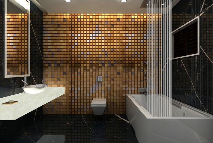 De Panache - Interior Architects Modern Bathroom Glass