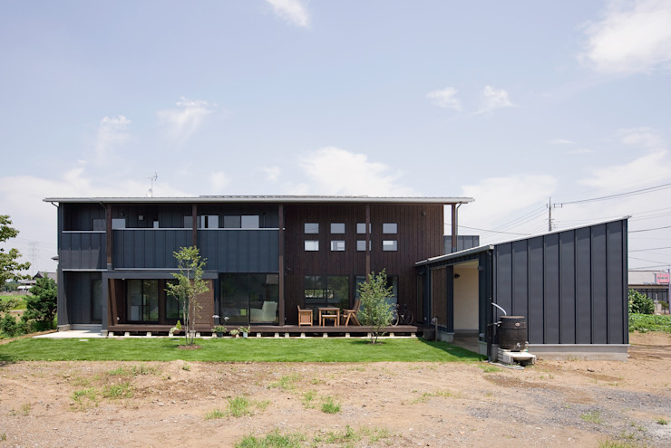空間設計室/kukanarchi Rumah Modern