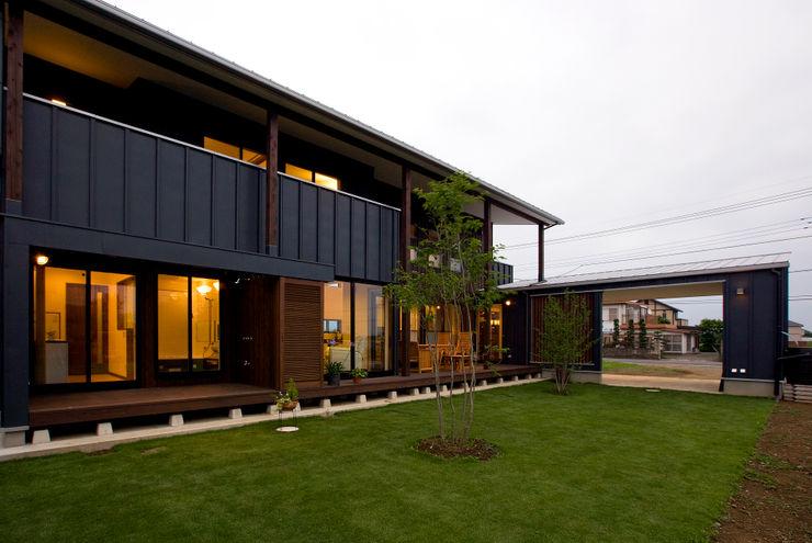 空間設計室/kukanarchi 모던스타일 주택