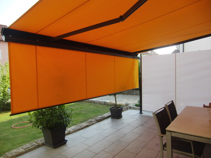 derraumhoch3 Balconies, verandas & terraces Accessories & decoration Orange