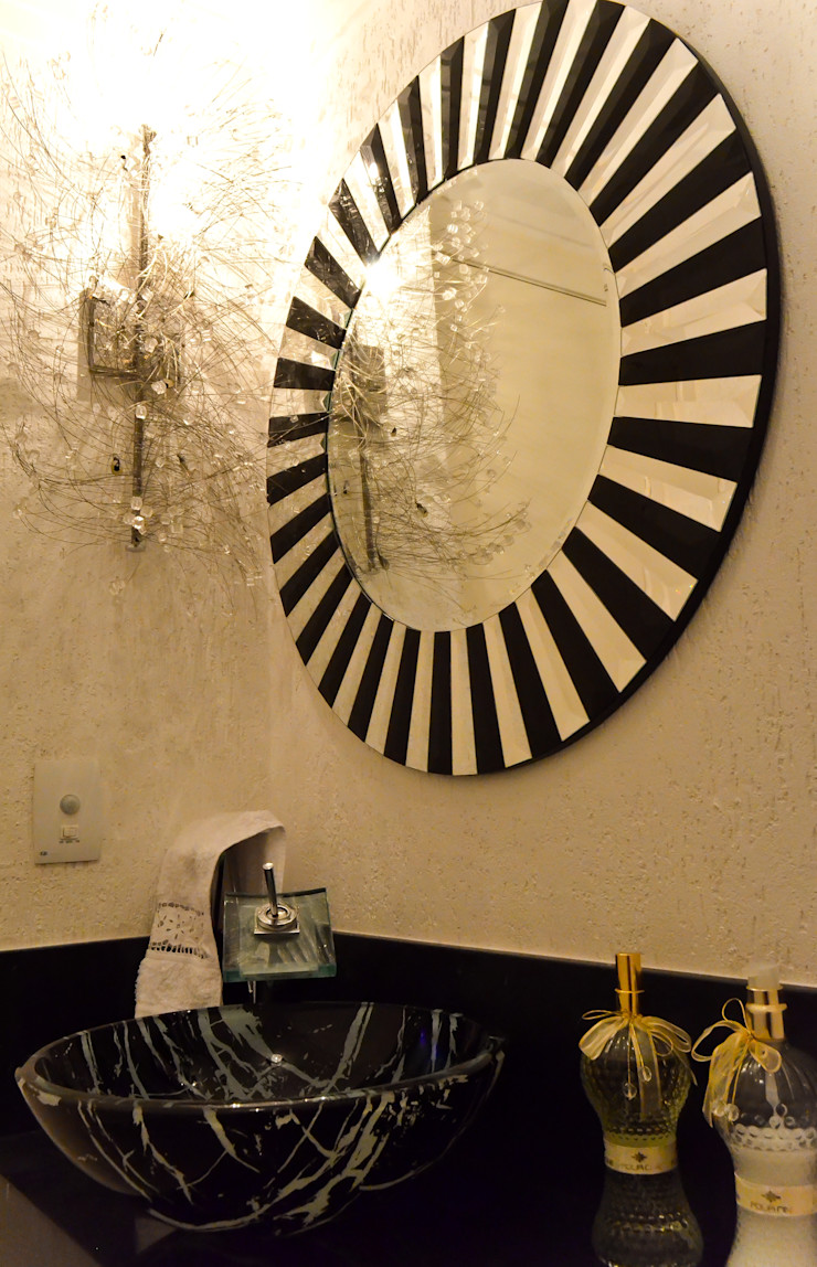 Sandra Pompermayer Arquitetura e Interiores Classic style bathroom