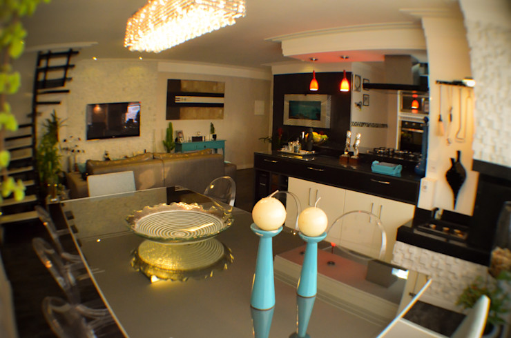 Sandra Pompermayer Arquitetura e Interiores Classic style dining room