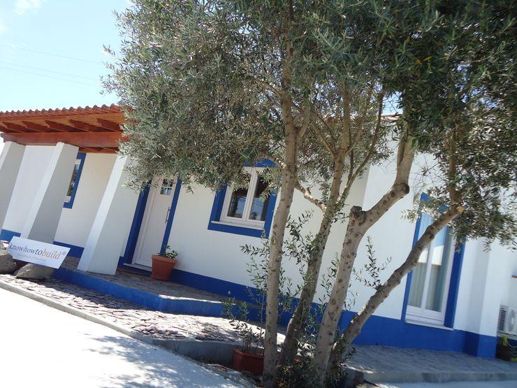 Decoração Mural Exterior. knowhowtobuild Casas campestres