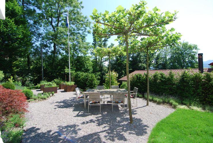 Ein Garten mit Geschichte Lustenberger Schelling Landschaftsarchitektur Moderner Garten