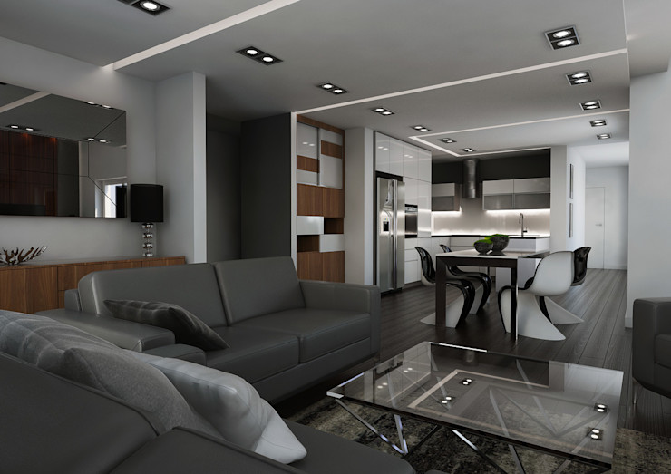 malee Minimalist Oturma Odası