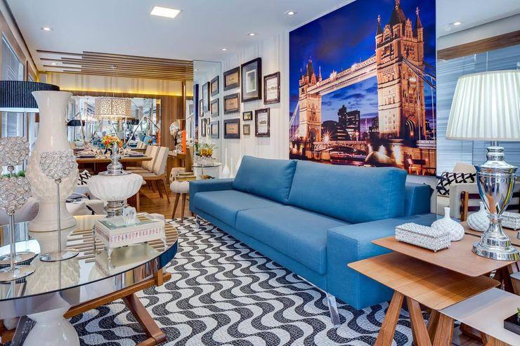 Ideatto Móveis e Decorações Living room