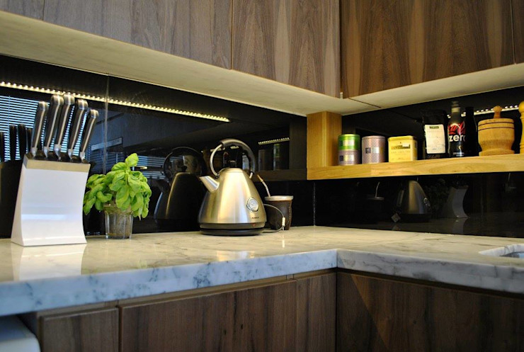 T + T Arquitectos Modern kitchen