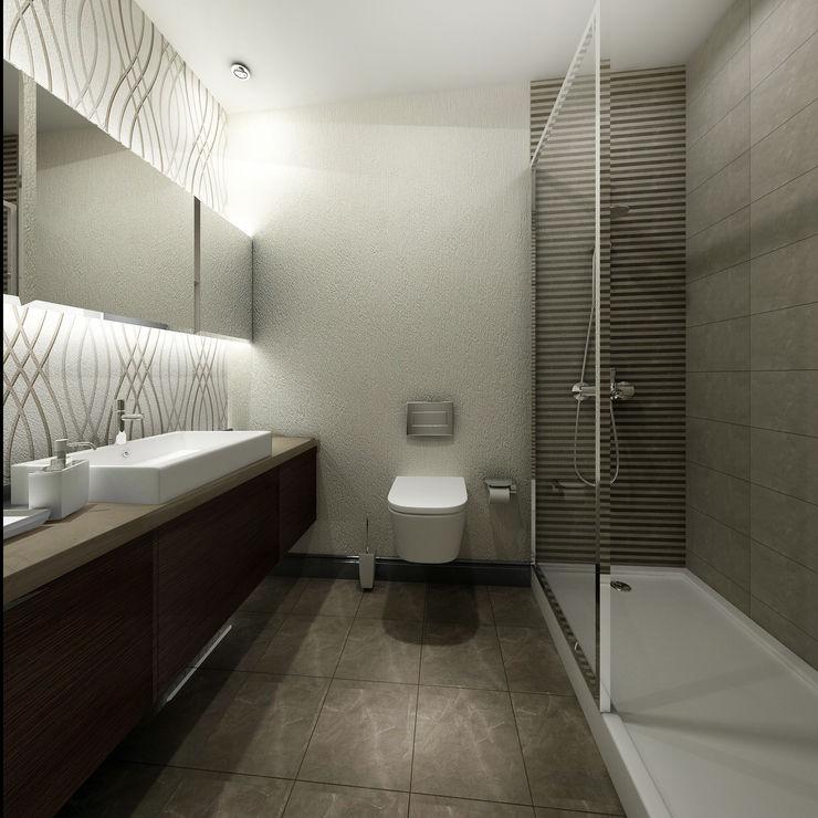 Treso İç Mimarlık Modern Bathroom