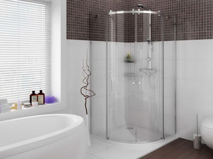 3D MİMARİ Salle de bainBaignoires & douches
