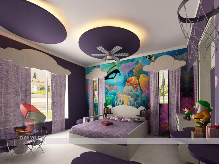 3D Power Visualization Pvt. Ltd. Nursery/kid's room