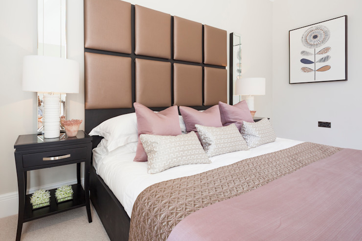 The Dormy - Master Bedroom Jigsaw Interior Architecture BedroomBeds & headboards