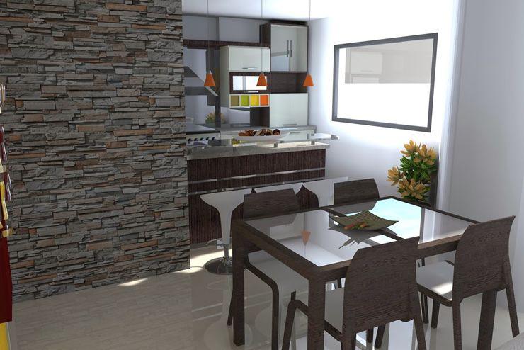Arquitectura 4rq غرفة المعيشة