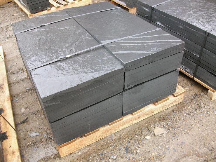 pizarra y tejado Walls & flooringTiles Stone Grey