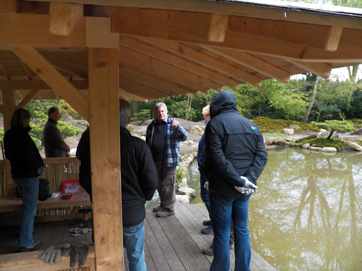 Japan Garten Seminar Mai 2015 Kokeniwa Japanische Gartengestaltung Asiatischer Garten