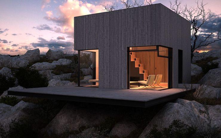 Abrigo de Montanha Nuno Neto - Arquitectura Casas minimalistas