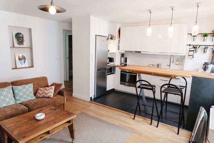 Appartement 48m² Lise Compain Cuisine moderne