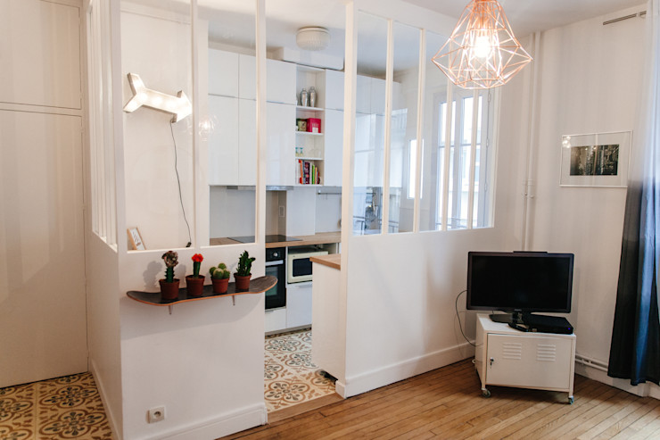 Lise Compain Modern style kitchen